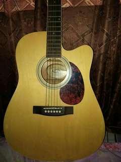 Washburn accoustic guitar  Model WD7SCE -ACS Serial no.  W10092508
