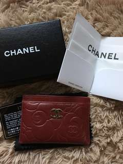 Chanel Card Holder - Red