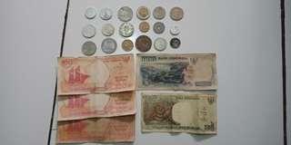 Jual uang kuno (yang ngerti aja)