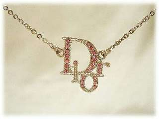 Authentic Christian Dior Silver Necklace