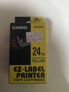 EZ label printer tape cartridge