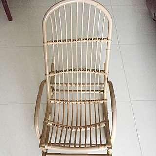 Rocking Children Rattan Chair