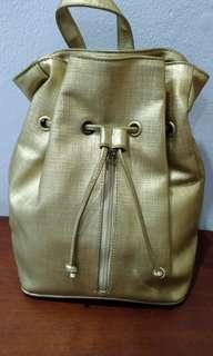 Backpack warna Gold