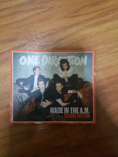 One Direction - Made in the A.m Deluxe edition album