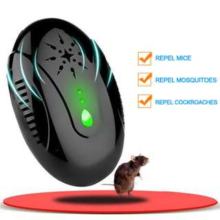 Electronic Animal Repeller - Easy To Work, 3 Modes, Wide Coverage (CVAGF-G916)
