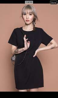 Young hungry free black dress M