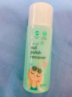 BN nail polish remover