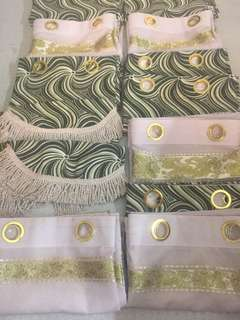 curtains set 3in1