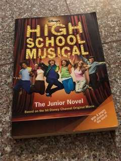 high school musical book