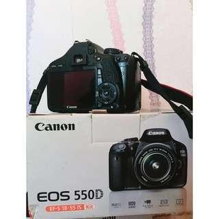 dijual camera canon 550D