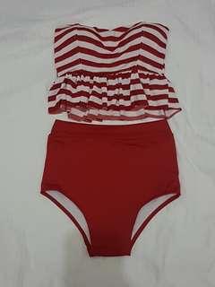 Red Stripe One Piece