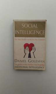 Social Intelligence, self development and motivation book