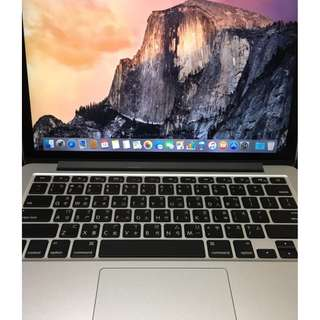 Apple Macbook Pro Retina 13吋 256G (2015款)