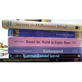Assorted Books for clearance SALE!!!