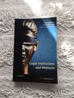 Legal Institutions and Methods by Anita Mackay & Pascale Chifflet