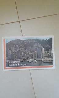 香港1980年年册一本包郵不包險