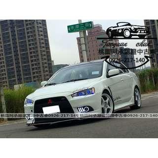 【FB搜尋桃園阿承】三菱 超人氣FORTIS 2013年 1.8 白色 二手車 中古車