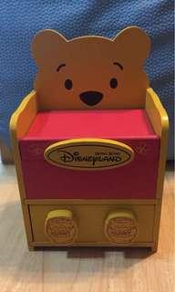 Winnie the Pooh 迪士尼木製首飾櫃仔