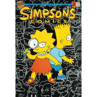 Simpsons Comics #3 (March 1994) - The Perplexing Puzzle of the Springfield Puma