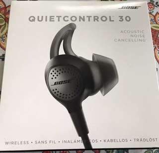 BOSE Quiet Control 30 (QC30)