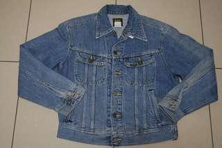 🚚 Lee日本製藍色牛仔外套~128