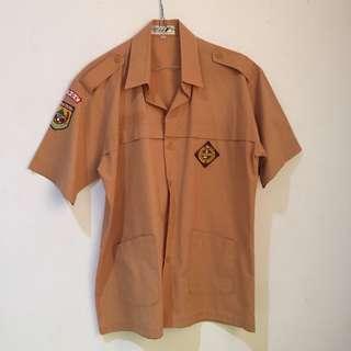 Baju Seragam Pramuka Uk 14-17tahun