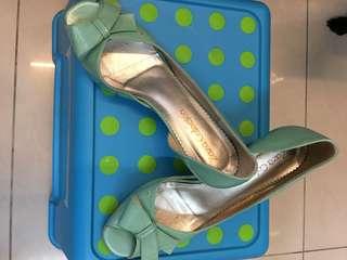 🚚 台灣製造涼鞋-湖水綠