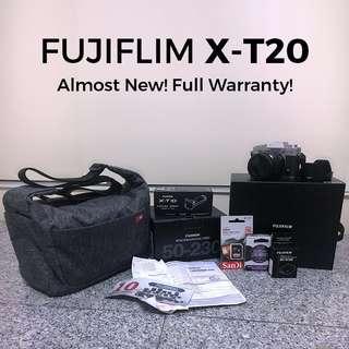 FUJIFLIM X-T20 Body + 16-50mm Lens + 50-230mm Lens