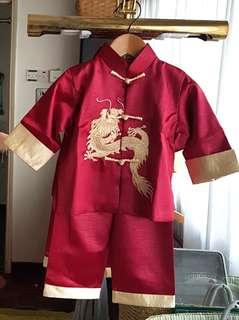 Boys Chinese kungfu suit