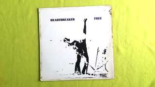 FREE (Bad Company lead vocalist ~ Paul Rogers ~ Tetsu Yamauchi ~ Japanese Bassist) heartbreaker.  vinyl record