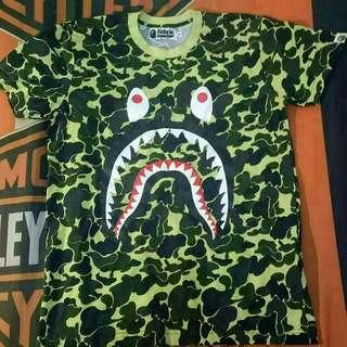 Bape Shark Camo Tee