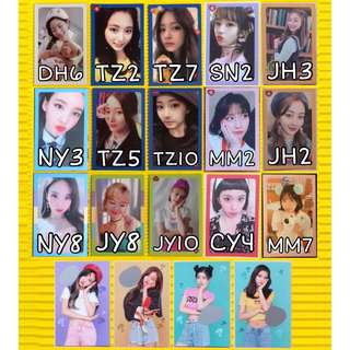 TWICE WHAT IS LOVE ALBUM PHOTOCARDS SCRATCH CARDS POSTER POB POSTCARD STICKER PHOTOBOOK DVD CD