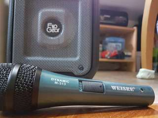 Weiser wired microphone