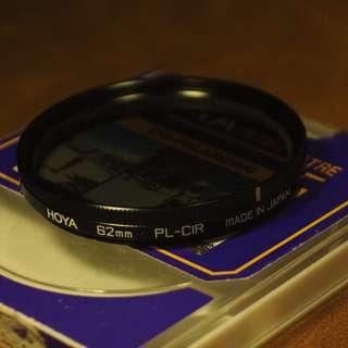 Hoya 62mm Circular Polarizer CPL Digital FIlter