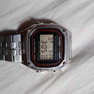 中古電子錶 Casio電子錶 - 黃金仔扭底蓋 vintage