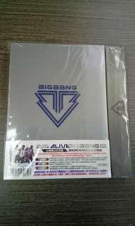 Bigbang ALIVE 台灣獨占紀念盤(BIGBANG五人合體版)