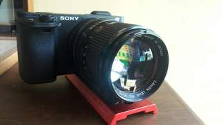 Canon fd 85mm 1.8 ( with sony emount )
