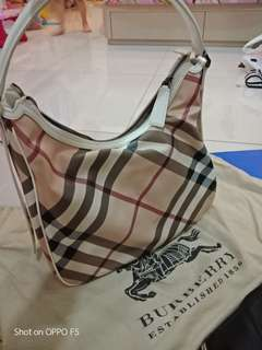 Used handbags sales burberry