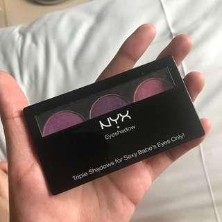 NYX Purple eyeshadow palette