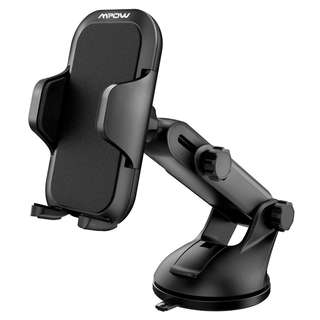 411. Mpow Car Phone Mount, Universal Long Arm Car Holder, Dashboard Windshield Mobile Phone Cradle for iPhone X/8/7/7Plus/6s/6Plus/5S, Galaxy S5/S6/S7/S8, Google, LG, Huawei and More