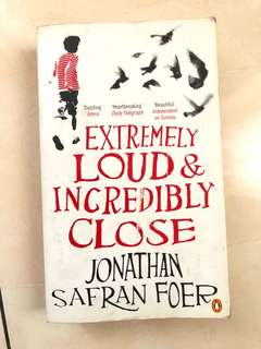 Extremely loud & incredibly close - Jonathan Safean Foer