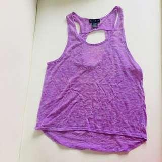 Purple tank top! ✨