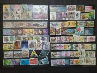 Mix Collection & Best Selection Of Malaysia - 110v All Different Used Stamps #2