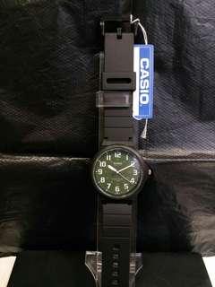 """MW-240-3B卡西歐品牌手錶""""Casio""""日本機芯一年保養"""