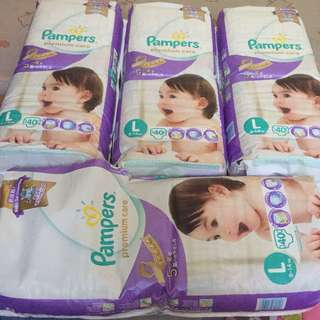 PAMPERS PREMIUM CARE LARGE SIZE