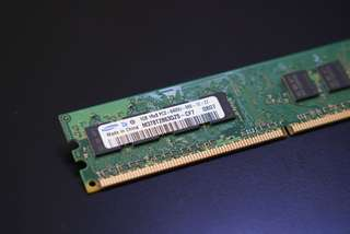 Samsung 單面 RAM DDR2 1GB 666