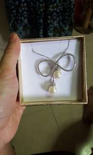 Chomel Brand New Pearl Long Necklace
