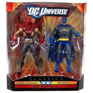 DC Universe Classics DCUC Knightfall Azrael Batman 2-pack