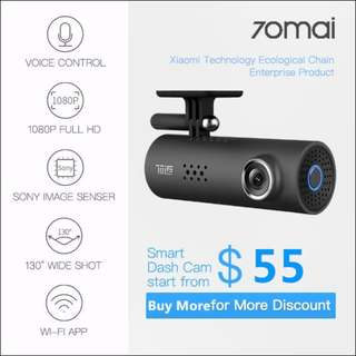🚚 XIAOMI 70MAI DASH CAM FEATURING VOICE CONTROL 1080P Full HD!!