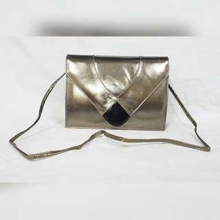 ARIFA GENUINE KID LEATHER CLUTCH/SLING BAG